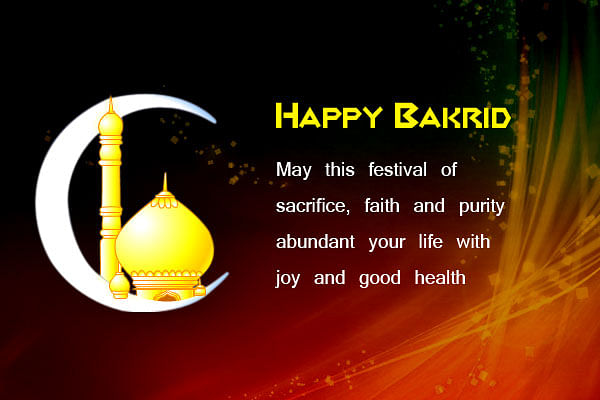 Happy Bakrid Wishes in English