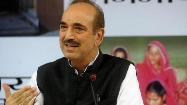 आजाद ने कहा-'मेरा जवाब राहुल गांधी को नहीं, कुछ कांग्रसियों को था'