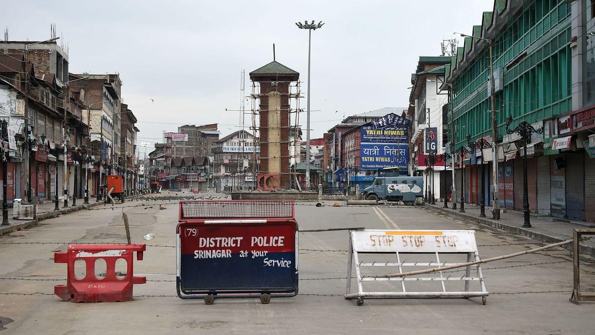 11 अगस्त को श्रीनगर में कर्फ्यू के सातवें दिन लाल चौक. प्रतीकात्मक तस्वीर