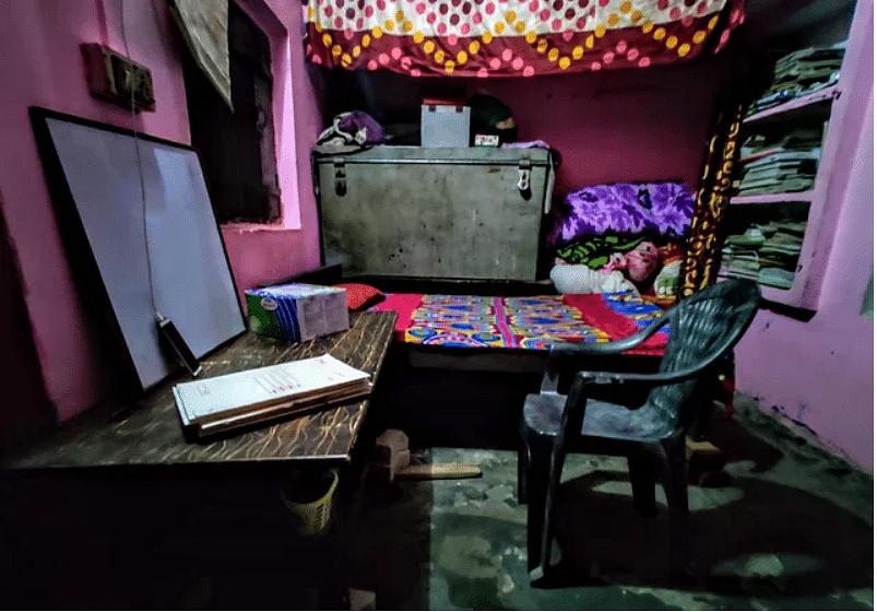 सुलेमान का स्टडी रूम
