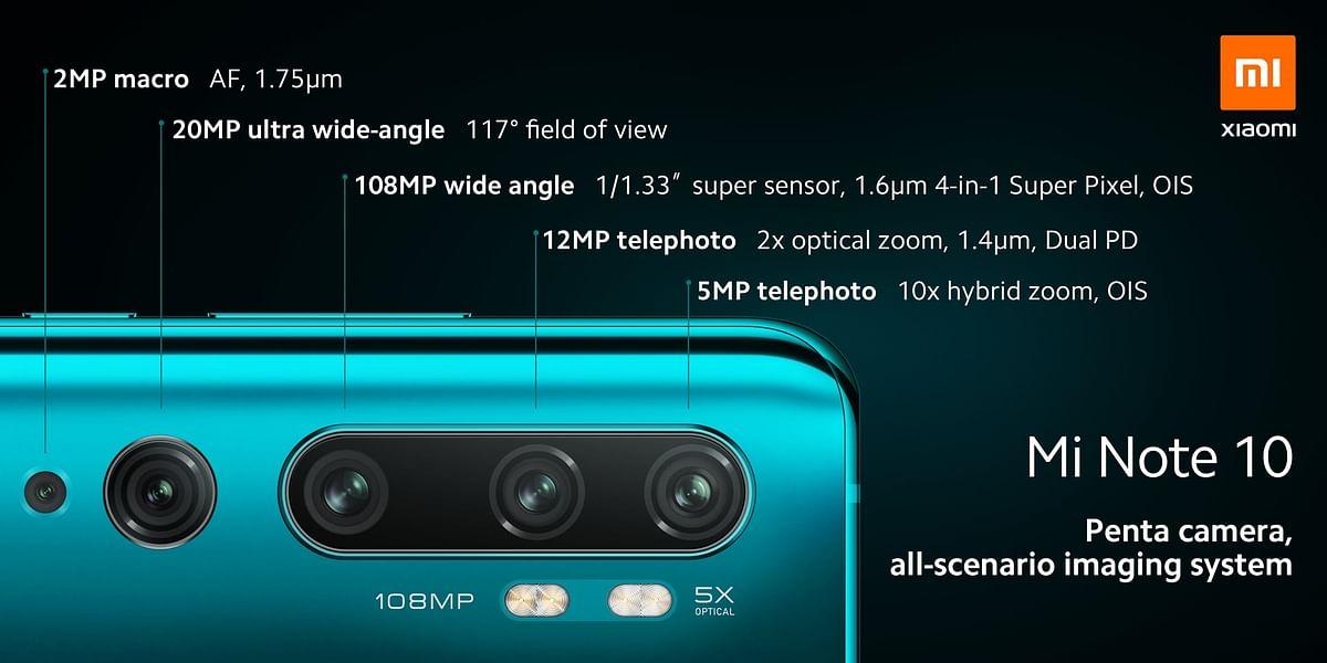 इस नए स्मार्टफोन में 5 कैमरे लगे हैं