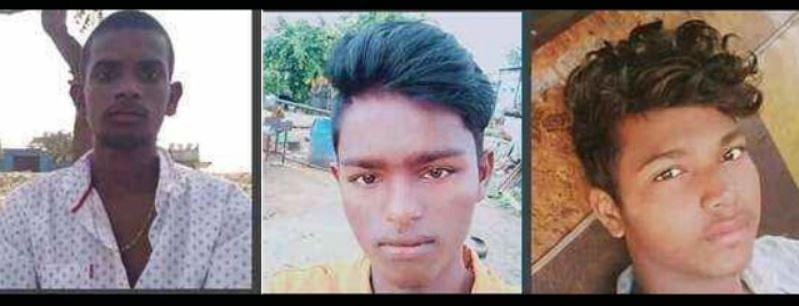 बाएं से, जोलू शिवा, जोलू नवीन और चिंताकुंता चेन्नाकेशावुलु