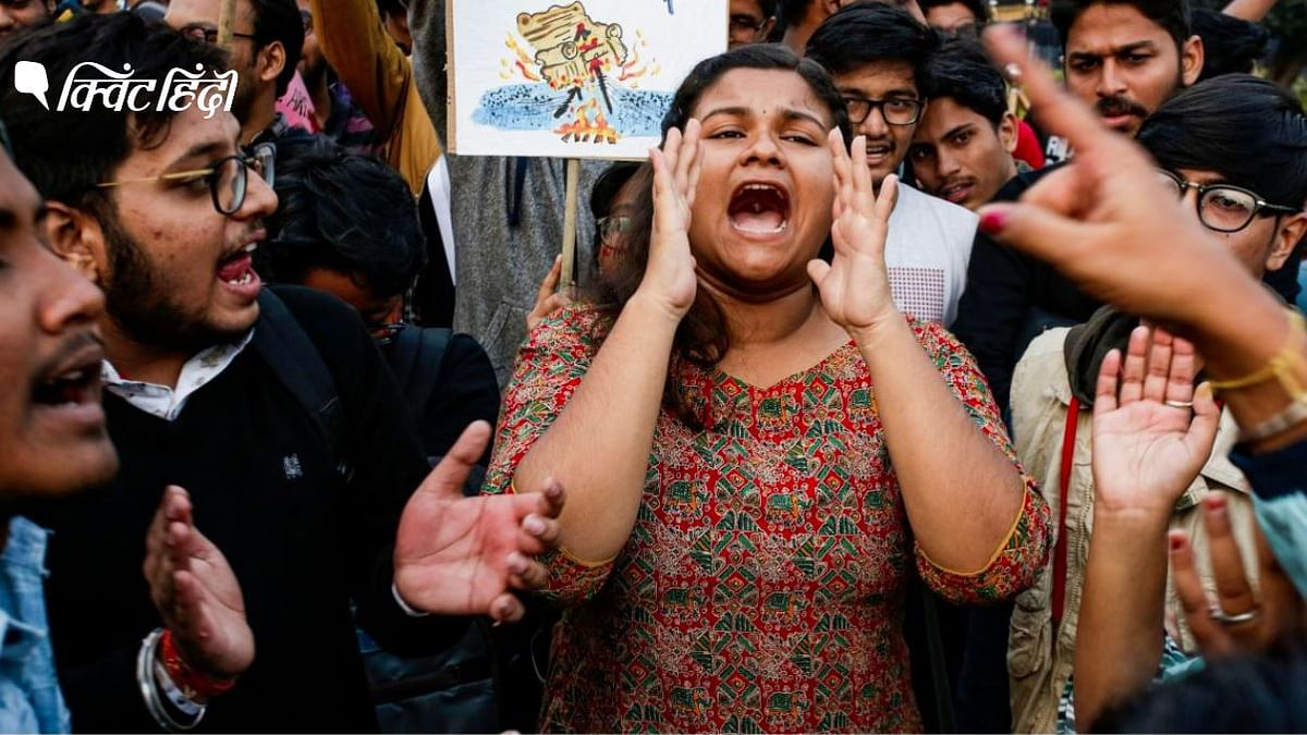 CAA प्रदर्शन: संगीत के जरिए हो रही विरोध की आवाज बुलंद