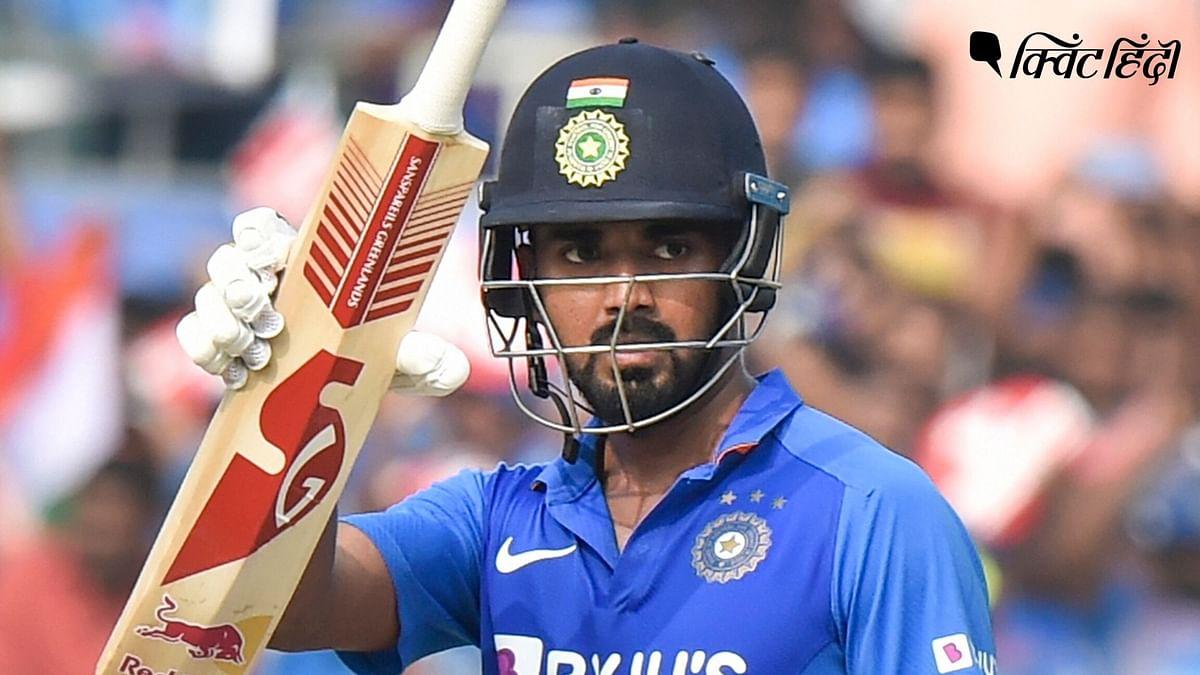 राहुल ने करियर का चौथा शतक जड़ दिया