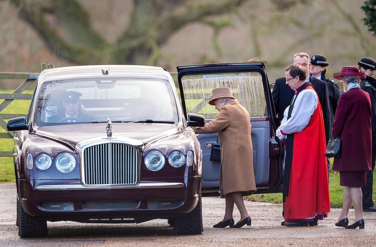 ब्रिटेन की महारानी एलिजाबेथ