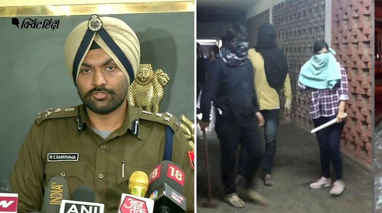 दिल्ली पुलिस ने अपनी जांच के बाद डीयू की नकाबपोश स्टूडेंट को किया बेनकाब