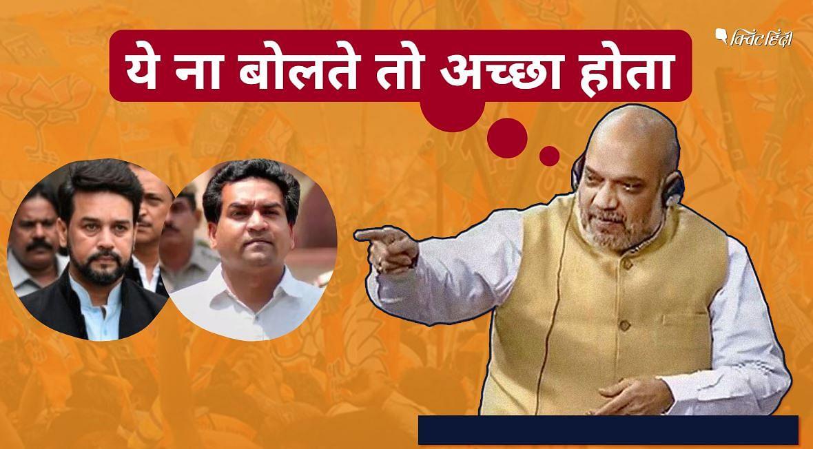 अमित शाह ने माना कि हो सकता है कि दिल्ली में नफरत वाले बयानों से पार्टी नुकसान हुआ