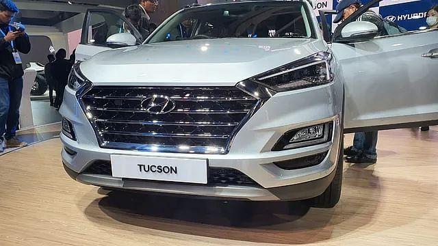 Auto Expo 2020:  हुंडई की नई SUV  टुसों 2020 मॉडल से उठा पर्दा