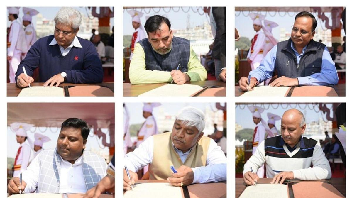 दिल्ली में मंत्रियों के विभाग तय,केजरीवाल नहीं रखेंगे कोई मंत्रालय