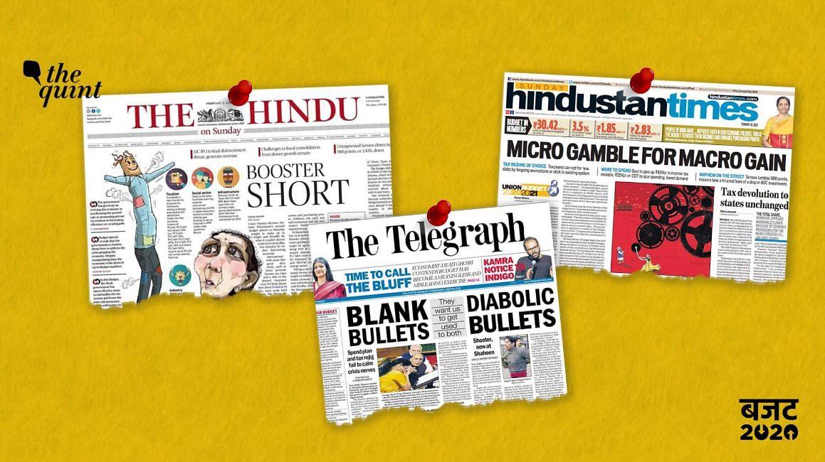 अखबारों की बजट कवरेज पर एक नजर