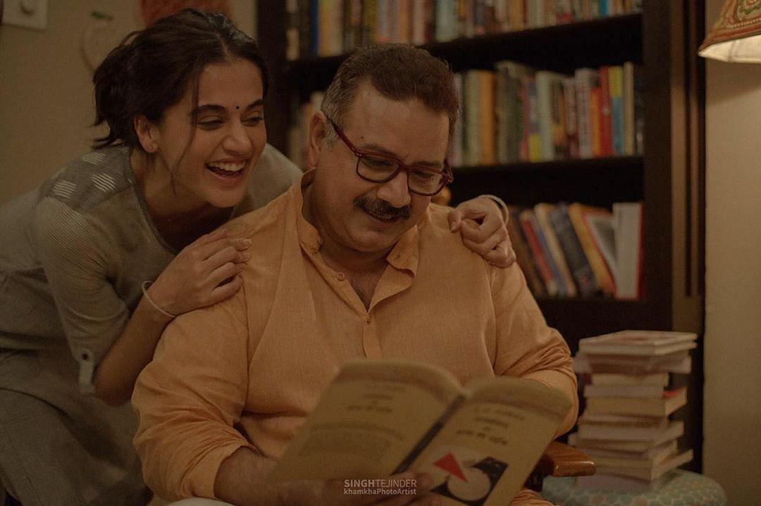 फिल्म में बेटी की मजबूती बने हैं कुमुद मिश्रा
