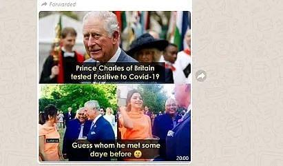 कनिका के संपर्क में आने से प्रिंस चार्ल्स हुए COVID-19 के शिकार?