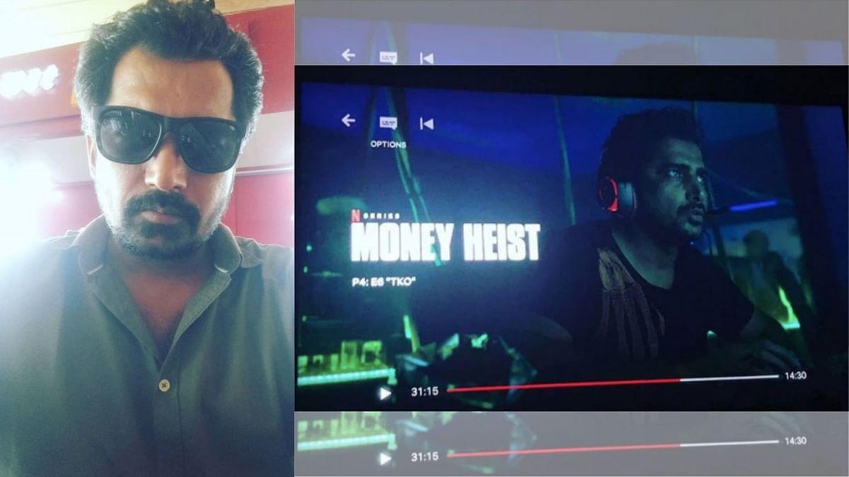 अजय जेठी ने 'मनी हाइस्ट' में पाकिस्तानी हैकर का रोल किया है.