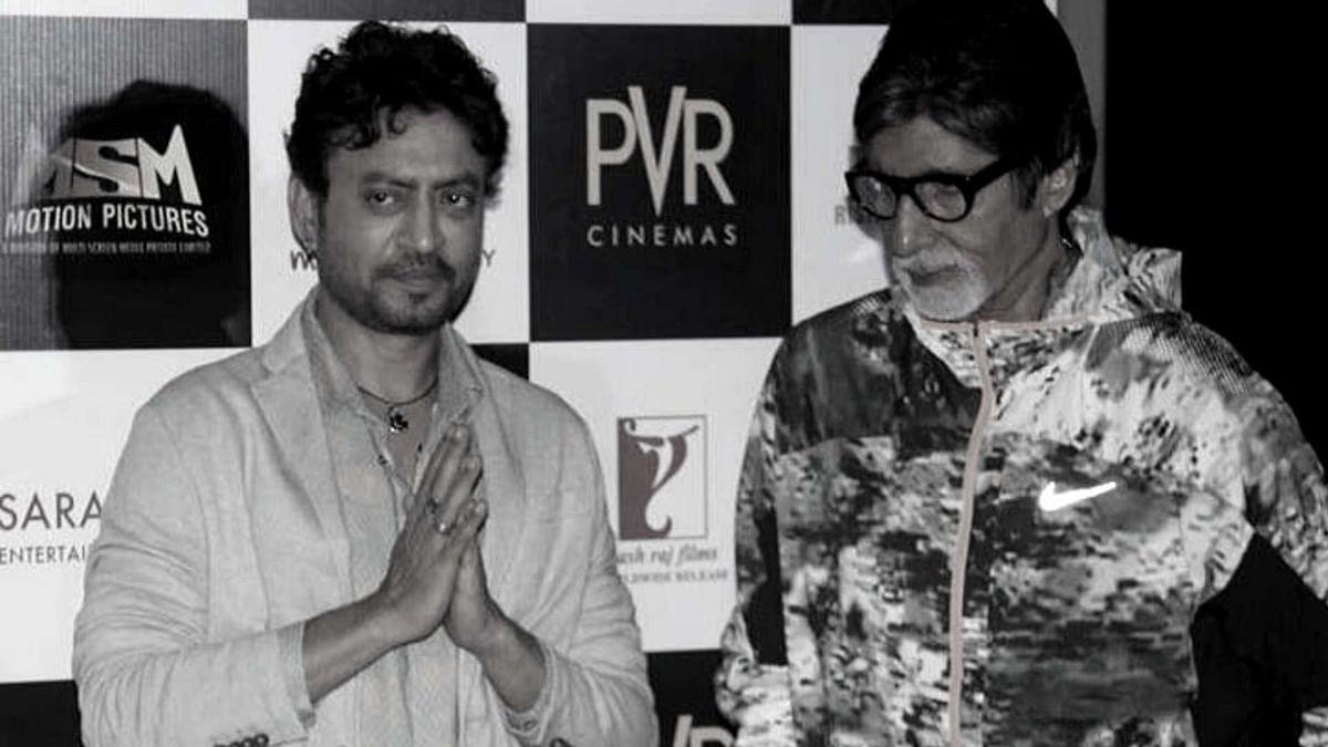 अमिताभ बच्चन ने बताया, इरफान के जाने का ज्यादा गम क्यों है?