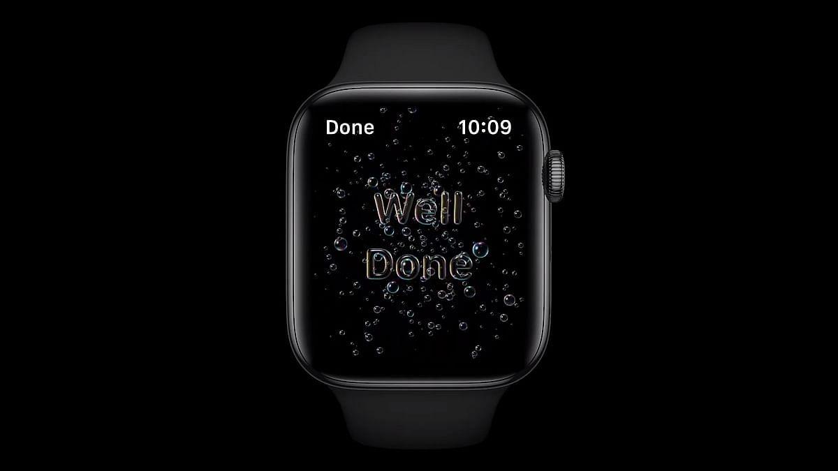 watchOS 7 में है नया हैंड वॉश फीचर