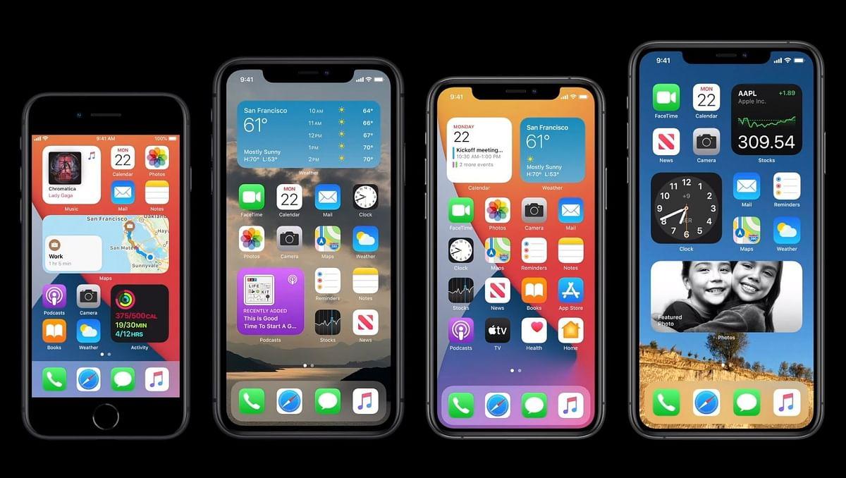 एपल होम स्क्रीन का नया लुक