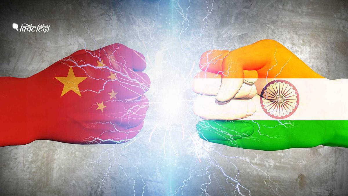 सीमा पर भारत और चीन में पिछले लगभग एक महीने से तनाव चल रहा था