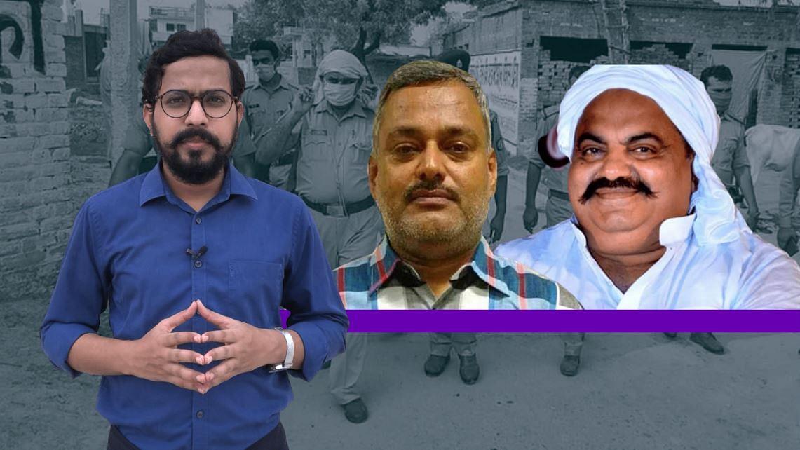 उत्तर प्रदेश में अपराध और राजनीति की साठगांठ की हिस्ट्री शीट