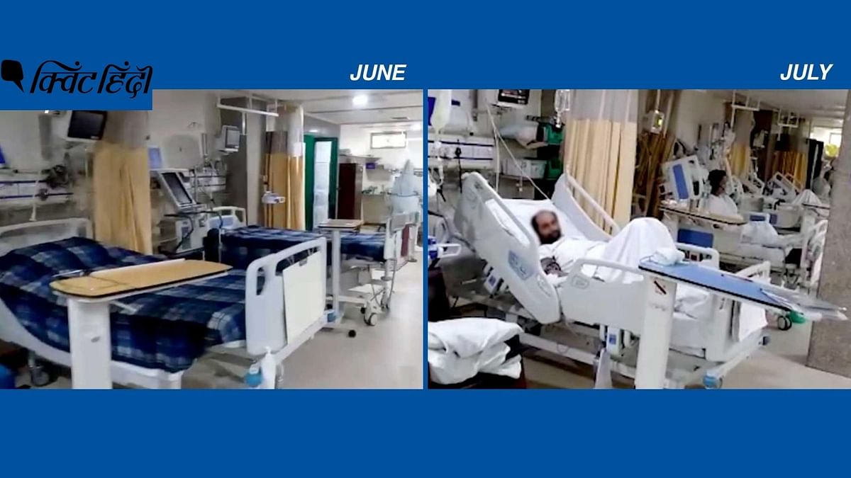 एक महीने में ऐसे बदले दिल्ली के अस्पतालों में COVID ICU के हालात