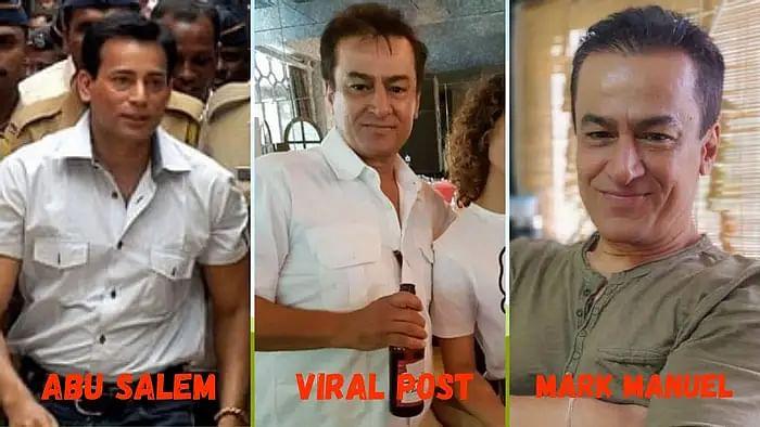वायरल फोटो में कंगना रनौत के साथ अबू सलेम नहीं है, गलत है दावा