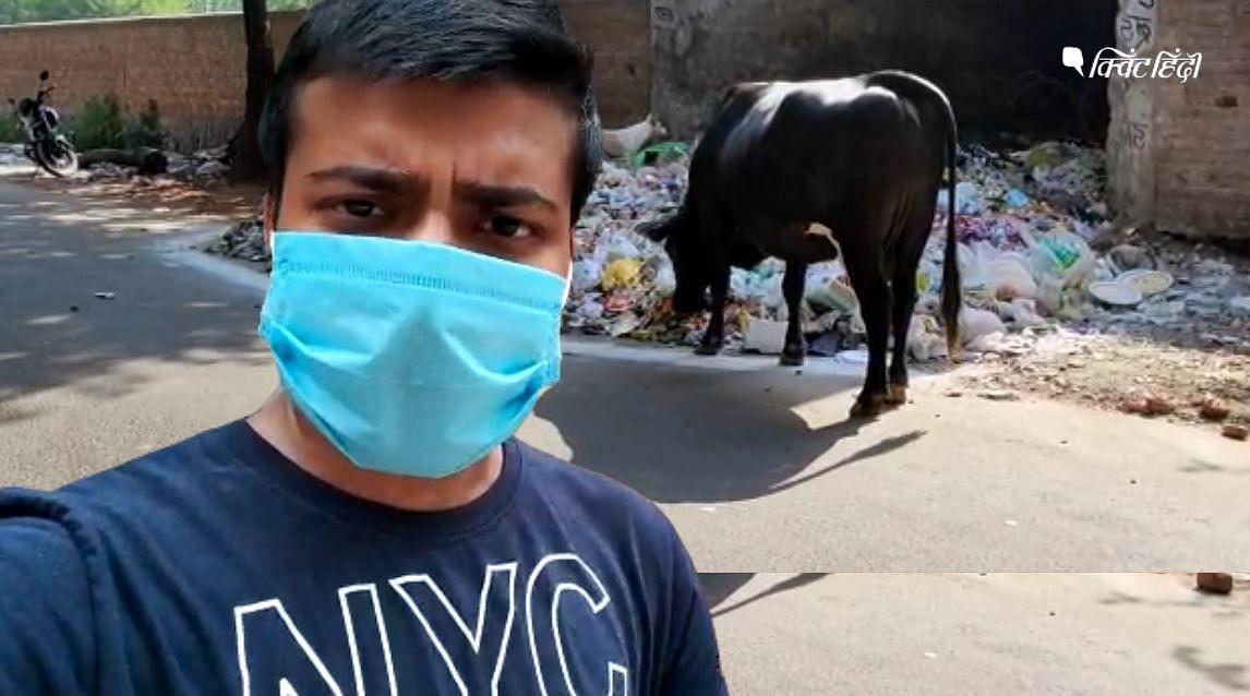 दिल्ली के इस हिस्से का रास्ता भूला स्वच्छ भारत अभियान?