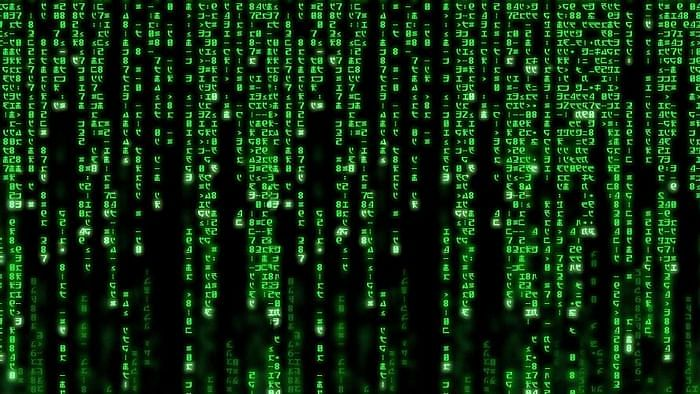 A still from The Matrix (1999)