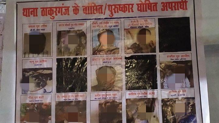 लखनऊ:फिर लगे CAA प्रदर्शनकारियों के पोस्टर,HC ने जताई थी आपत्ति