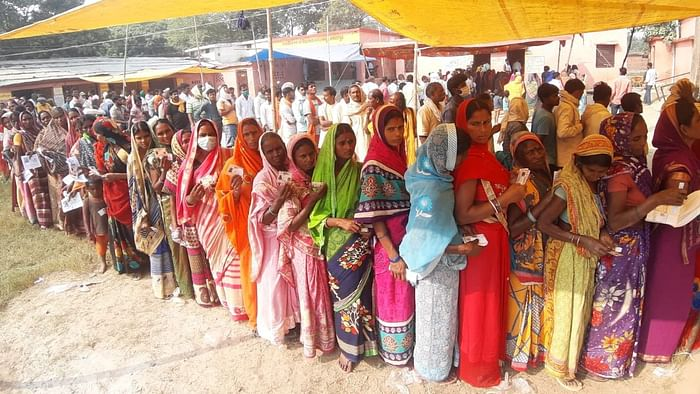Bihar Assembly election 2020: बिहार विधानसभा चुनाव: 94 सीटों पर वोटिंग  जारी, Voting for the second phase of Bihar Assembly polls on 94 seats