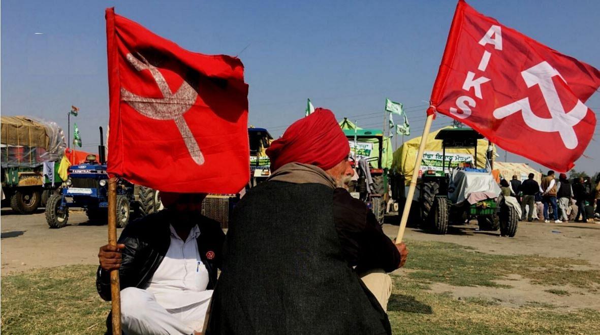 केंद्र के तीन कृषि कानूनों के खिलाफ किसानों का प्रदर्शन