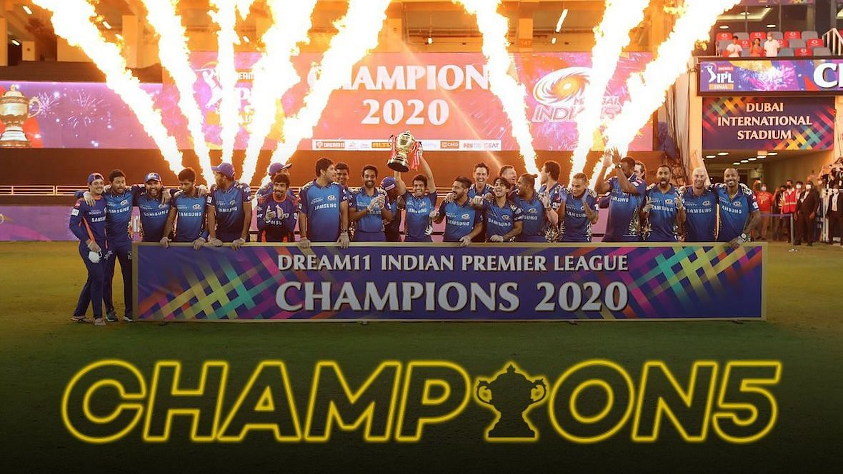 मुंबई इंडियंस ने पांचवीं बार जीता आईपीएल का खिताब
