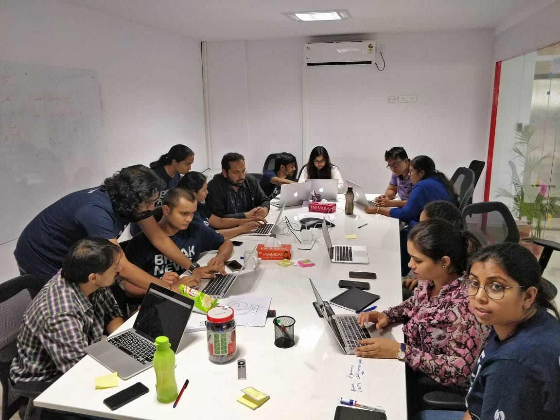 The outset of 'Quintype QA' meetup - 4th August 2018