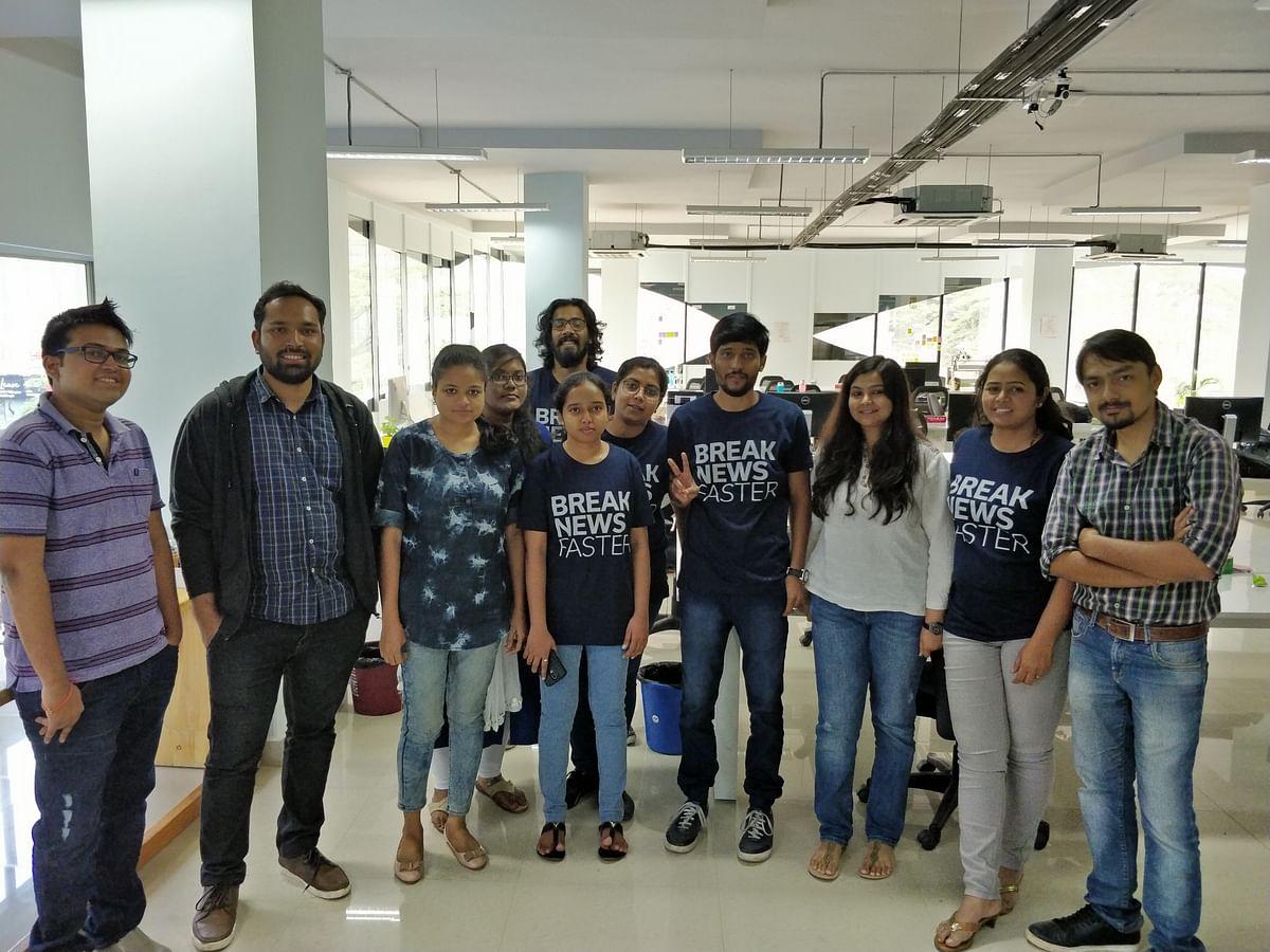 The participants of QA Meetup