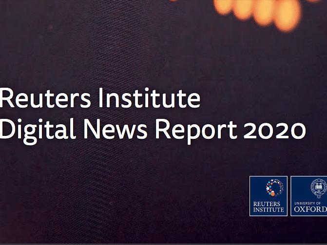 World Digital News Report - 2020