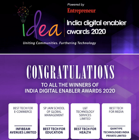 India Digital Enabler Awards