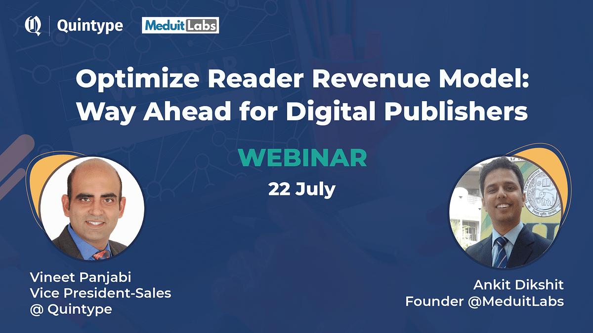 Optimising Reader Revenue Model