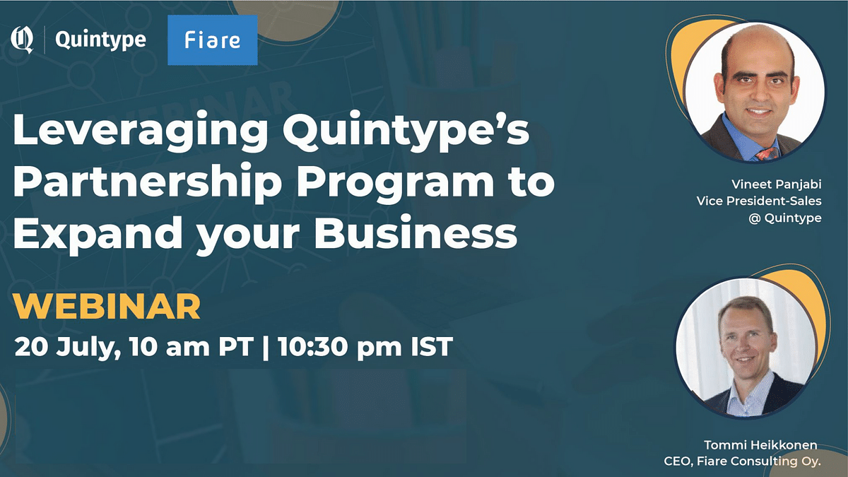 Benefits of the partnership program with Quintype
