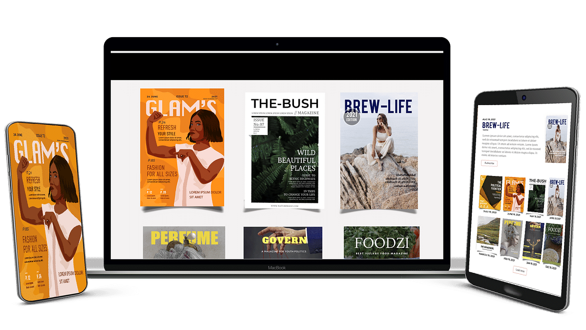 How to launch your own digital magazine
