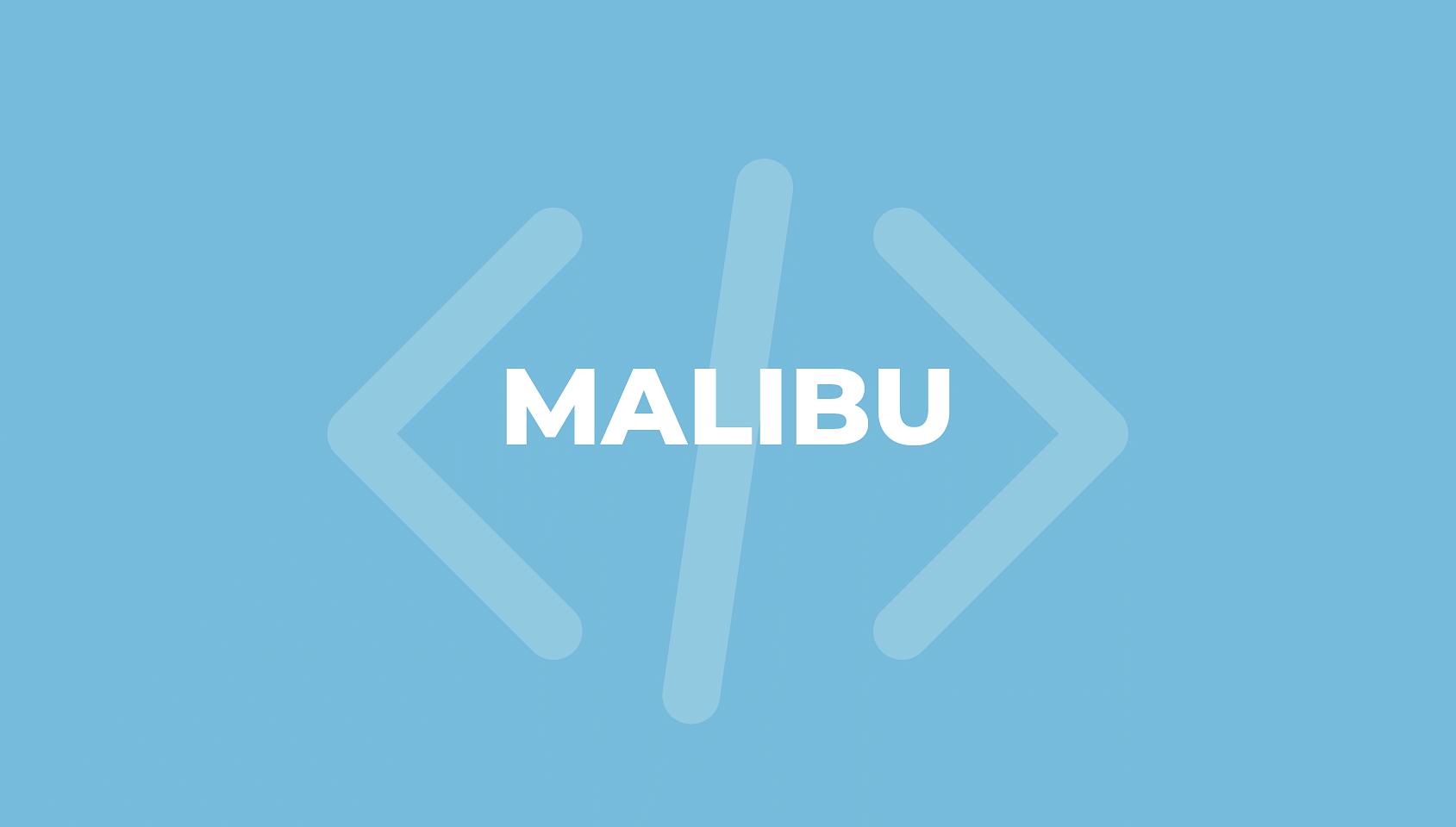 malibu framework for bold cms