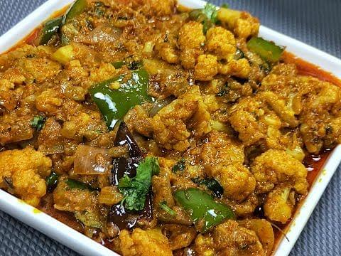 घर पर बनाएं ढ़ाबे वाली कढ़ाई गोभी रेसिपी - Ghar par banaye dhabhe wali kadai gobhi recipe