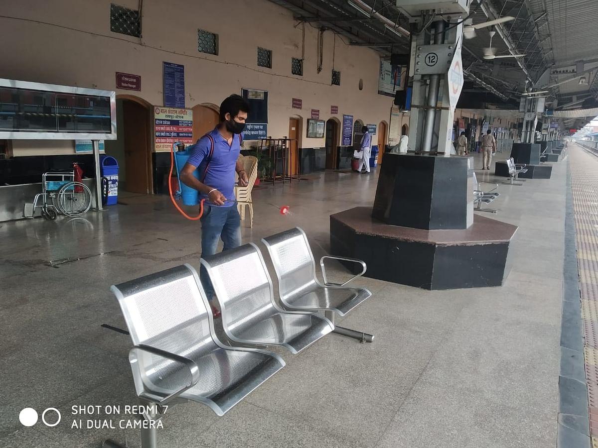 रायपुर मंडल में सोमवार से शुरू हुई 4 स्पेशल ट्रेनें