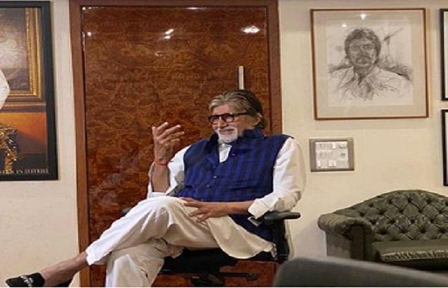 अमिताभ बच्चन ने शेयर की पिता हरिवंश राय बच्चन की कविता की कुछ पंक्तियां