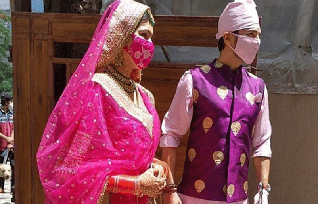 शादी के बंधन में बंधे पॉपुलर टीवी कपल मनीष रायसिंह और संगीता चौहान