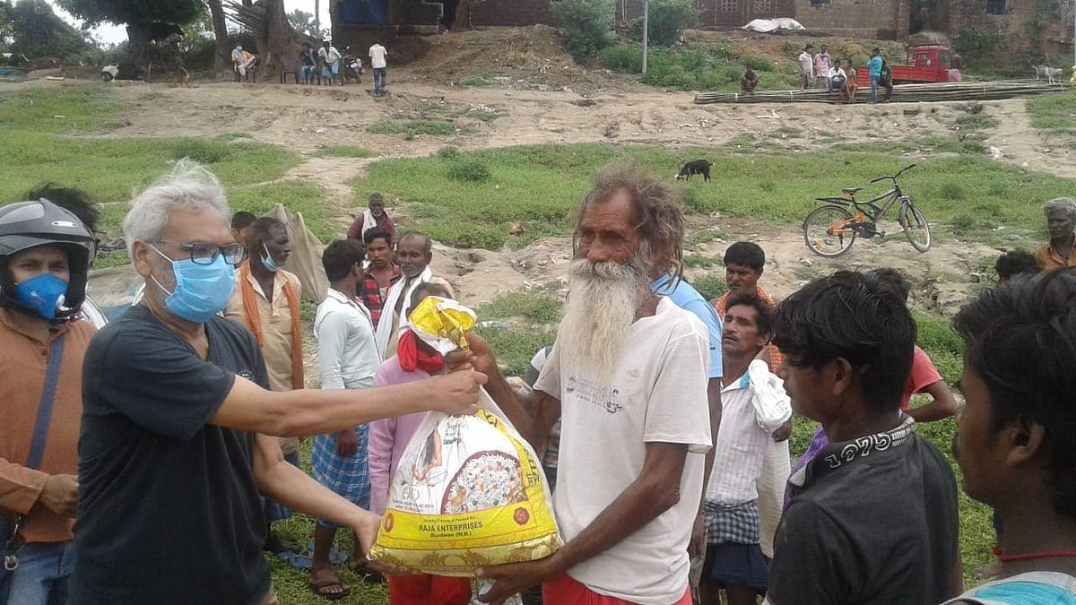 परिधि ने मछुआरों के बीच चलाया कोरोनो जागरूकता अभियान, राशन सामग्री भी बांटी गयी