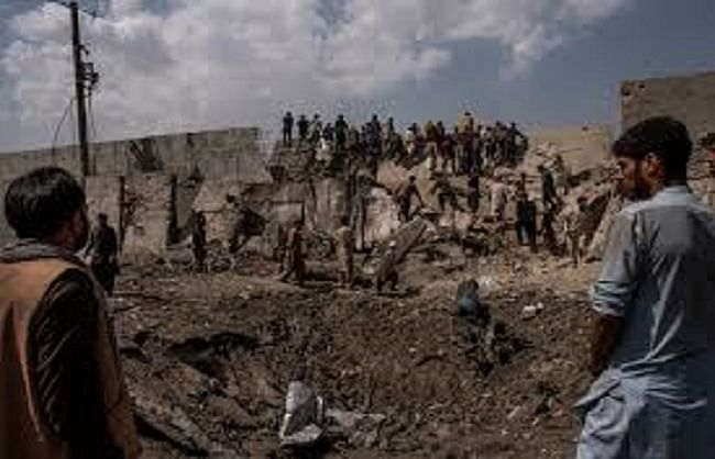 अफ़ग़ानिस्तान : कंधार बम विस्फोट में 9 नागरिकों की मौत,अन्य 5 घायल