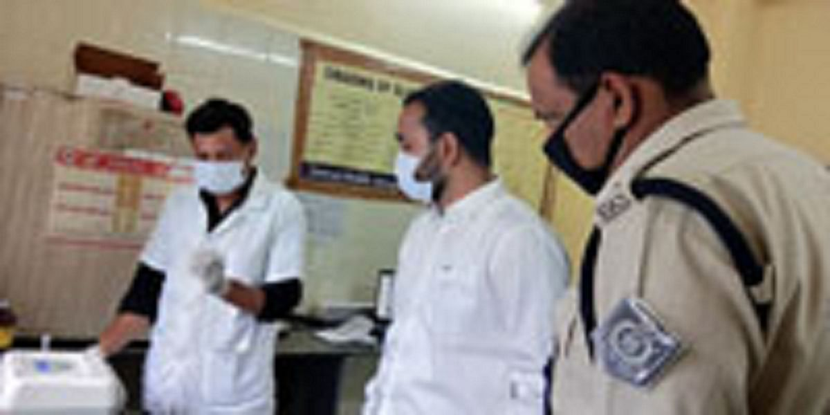 अब हरदा जिले में भी होगी कोरोना सैंपल की जांच, मंत्री पटेल ने किया ट्रू नॉट मशीन का उद्घाटन