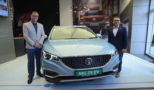 MG Motor की पहली Electric Car MG ZS EV Launch, जानें कीमत और खासियतें