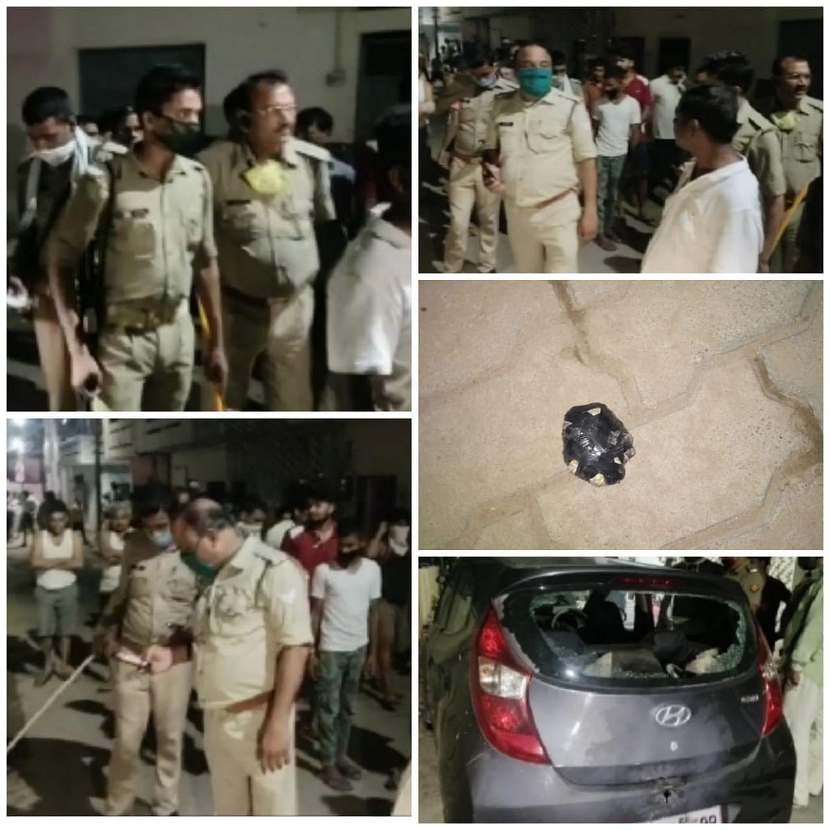 कानपुर : दहशत फैलाने के लिए अज्ञात बदमाशों ने कल्यानपुर इलाके की बमबाजी