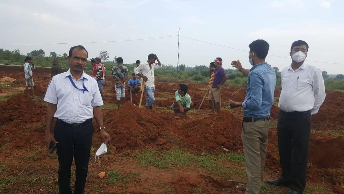 केंद्र सरकार  द्वारा झारखंड में शुरू किया गया गरीब कल्याण रोजगार अभियान ।