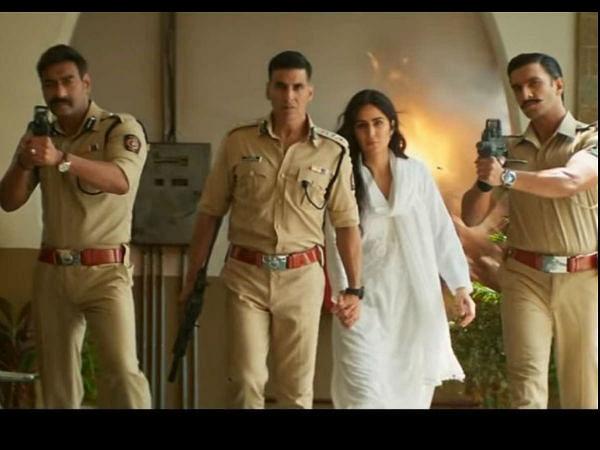 अजय देवगन ने पोस्ट किया सूर्यवंशी कहा आयी पुलिस, एक्ट्रेस का जवाब पुलिस पर भरोसा नहीं, सर