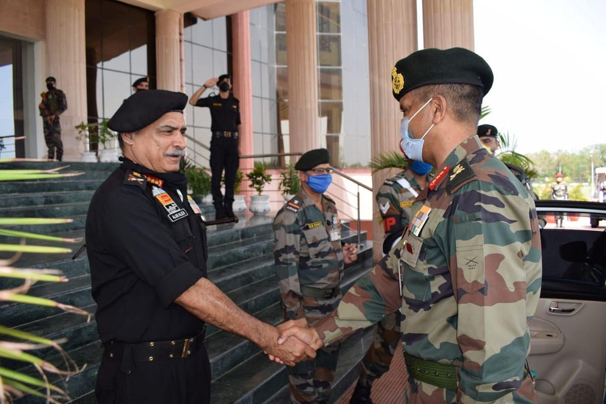 उप सेना प्रमुख ने जयपुर मिलिट्री स्टेशन का दौरा किया